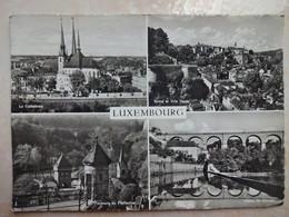CPSM LUXEMBOURG Multi Vues - Au Dos Flamme Mondorf Les Bains L'eau Qui Guérit Le Foie - Lussemburgo - Città