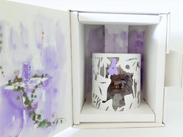 Miniatures De Parfum  COFFRET  LOLITA  LEMPICKA DENTELLE DE LUMIERE  EDP  5 Ml + BOITE - Modern Miniatures (from 1961)