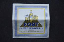 Waardebon FORT. 10x0,75=7,5fr. N.V. FORT Produkten. Itegem, Mechelen-Malines. - Altri