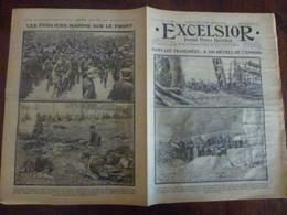 Journal Excelsior 26 Octobre 1914 1443 Tranchées Longwy Reims Falkenhayn Fusiliers Marins  WW1 Guerre - Autres