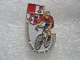 Pin's Du 10e Anniversaire Du Club Cycliste De LUTTERBACH - Ciclismo