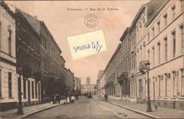 Tienen, Thienen, Tirlemont,rue De La Station, TOPKAART!!! COLLECTORS ITEM!!!!!!!! - Tienen