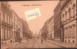 Tienen, Thienen, Tirlemont,rue De La Station, TOPKAART!!! NOOIT VERZONDEN,COLLECTORS!!!! - Tienen