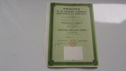 PROCIDA Produits Chimiques Industriels Et Agricoles (1961) - Non Classés