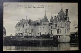 CPA - MAISONNAIS SUR TARDOIRE (87) - Château-Rocher - France
