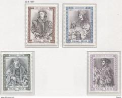 Poland 1997, Mi 3671-4, Polish Kings And Princes - Jan I Olbracht, Aleksander, Zygmunt I Stary, Zygmunt II August **MNH - History