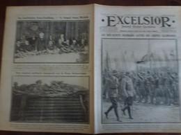 Journal Excelsior 23 Janvier 1917 2261 Boy Scouts Evians Les Bains Ireneu Machado  WW1 Guerre - Autres