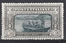 Italia Regno 1923 Sass.153 **/MNH VF/F - Mint/hinged