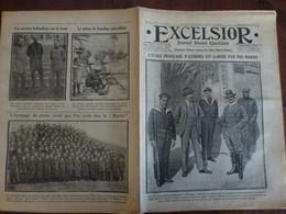 Journal Excelsior 24 Janvier 1917 2262 Ecole Française D'Athènes Crise Russe Moewe Sultan Zanzibar  WW1 Guerre - Autres