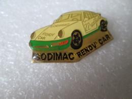 PIN'S     PORSCHE   911  SODIMAC  RENOV CAR - Porsche