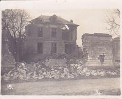 ( 51 ) - Bermericourt Zerschossenes Haus  Photo Allemande 1° Guerre - Frankreich