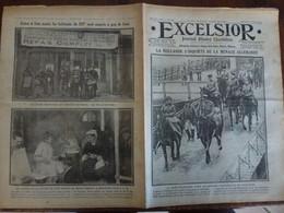 Journal Excelsior 7 Fevrier 1917 2276 Hollande Vaterland Mouilleur De Mines Mairie De Paris   WW1 Guerre - Autres