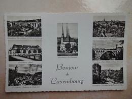 CPSM Bonjour De LUXEMBOURG Multi Vues - Lussemburgo - Città