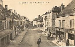 37 -   BLERE - Rue Nationale  38 - Bléré