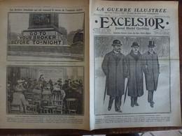 Journal Excelsior 11 Fevrier 1917 2280 Comte Tisza Kabyles Barrage De Joinville Emprunt Anglais  WW1 Guerre - Autres