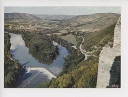 La Vallée Du Lot, Vue Du Château De Belaye - Prayssac, Le Lot Pittoresque, Cp Vierge N°46/196 - Autres Communes