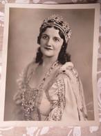 PHOTO DE PRESSE : CHANTEUSE D'OPÉRA MARJORIE MAXWELL- CHICAGO 18/11/ 1932- - Célébrités