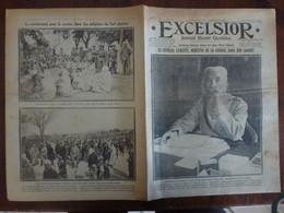Journal Excelsior 13 Fevrier 1917 2282 Général Lyautey Ancre Nissen John Jollicoe Indigènes Sud Algérien WW1 Guerre - Autres