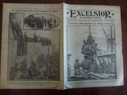 Journal Excelsior 22 Septembre 1916 2138 Soldats Sénégalais Macédoine Armée D'Orient Jutland WW1 Guerre - Autres