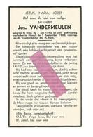 DD 227. JOS. VANDERMEULEN - °BREE 1890 / +HASSELT 1948 - Devotion Images