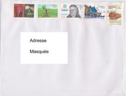 Lettre Du 14 09 2020 Pour La Suisse - Franquicia Postal