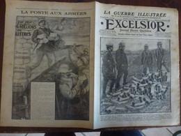 Journal Excelsior 24 Septembre 1916 2140 Llyod George Artois Somme Postes Aux Armées WW1 Guerre - Autres