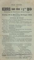 Ronse Kermis 1904 - Renaix - Ronse