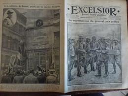 Journal Excelsior 26 Septembre 1916 2142 Poilus Joffre Battisti  Austro Hongrois WW1 Guerre - Autres