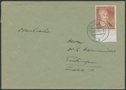 BUND 1953, Nr. 156, 4+2 PF. WOHLFAHRT AUF DRUCKSACHE AUS TÜBINGEN; EF-MI. 35,- - Sin Clasificación