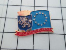 1620 Pins Pin's / Rare & Belle Qualité THEME VILLES / BLASON EVUSSON ARMOIRIES NOGENT LE ROTROU - Cities