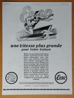 1929 Esso (L'Economique S.A. Paris - Essence....) - Bolivar Chocolat Guérin-Boutron Par René Ravo - Publicité - Reclame