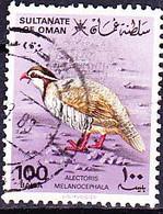 Oman - Schwarzkopffelsenhuhn (Alectoris Melanocephala) (MiNr: 237) 1982 - Gest Used Obl - Oman