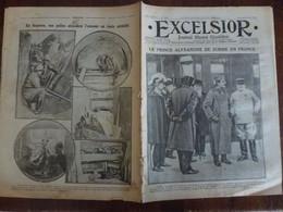 Journal Excelsior 22 Mars 1916 1954 Prince Alexandre De Serbie Argonne  WW1 Guerre - Autres