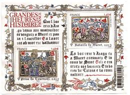 Bloc Grandes Heures Histoire De France 2013 - Oblitéré - Muret & Tournoël - !!! Qq Froissures - Sheetlets