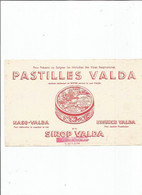BUVARD  ANCIEN / PASTILLE VALDA Rouge MALADIE VOIES RESPIRATOIRE SIROP PHARMACIE - Chemist's
