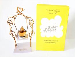 Miniatures De Parfum  COFFRET  LOLITA  LEMPICKA LA BALANCOIRE   EDP  5 Ml + BOITE - Modern Miniatures (from 1961)