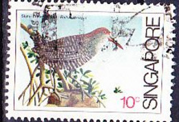 Singapur - Blaubruststreifenralle (Rallus Striatus) (MiNr: 440) 1984 - Gest Used Obl - Oman