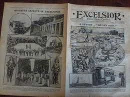 Journal Excelsior 21 Avril 1916 1984 Verdun Souvenir De Pâques Trezibonde  WW1 Guerre - Autres