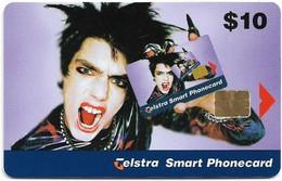 Australia - Telstra (Chip) - Mardi Gras - No Change No Problem (Man), Exp.03.2001, 10$, Mint - Australië