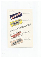 BUVARD  ANCIEN /  CAMPHO PNEUMINE ANTISEPTIQUE PHARMACIE MEDICAMENT - Chemist's