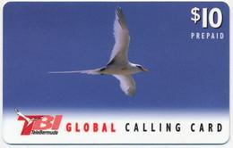 BERMUDA ISLANDS TBI TELEBERMUDA INTERNATIONAL 10$ BIRD PRE-PAID PHONECARD TELECARTE PERFECT - Bermuda