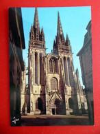 Quimper - Cathédrale Saint-Corentin - Bretagne - Kathedrale Kirche - Frankreich - Quimper
