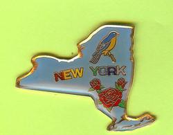 Pin's État De New York États-Unis - 3D13 - Pin's