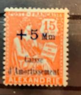 197/8  Y Et T  81* - Alexandrie (1899-1931)