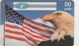 AIGLE ET BANNIERE US    Worldcom - United States
