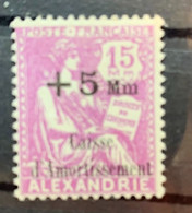 1927/8  Y Et T  82* - Alexandrie (1899-1931)