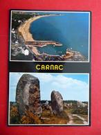 Carnac - Menec Menhire - Hafen Strand Atlantik - Morbihan - Bretagne - Frankreich 1988 - Carnac