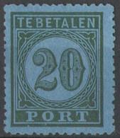 Nederlands Indie 1874 NVPH Nr Port 4 Ongebruikt/MH Taxe, Tax - India Holandeses