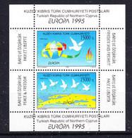 Europa Cept 1995 Northern Cyprus M/s ** Mnh (50117) - Europa-CEPT