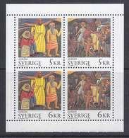 Europa Cept 1995 Sweden Booklet Pane ** Mnh (50117A) ROCK BOTTOM - Europa-CEPT
